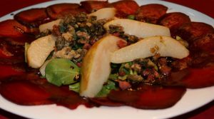 Rinderfilet mit Spinat Parmesan Champignons und Bacon Butter 22