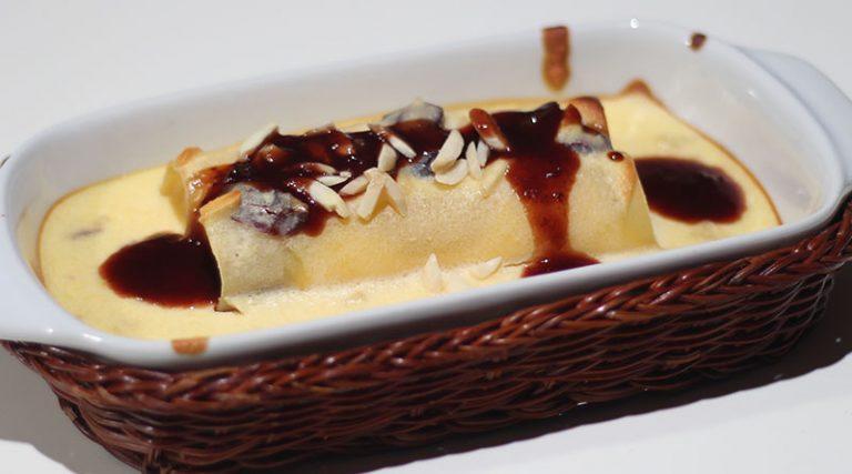Ricotta-Cannelloni-Auflauf mit Cranberries & Mandeln0 (0)