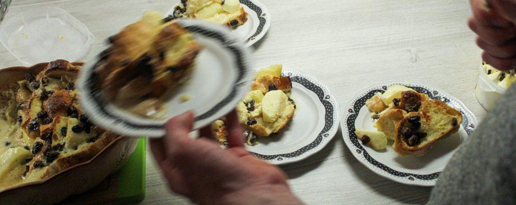Schwäbischer Ofenschlupfer mit Äpfeln und Rosinen 4