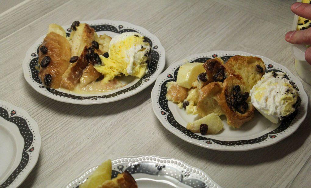 Schwäbischer Ofenschlupfer mit Äpfeln und Rosinen 6