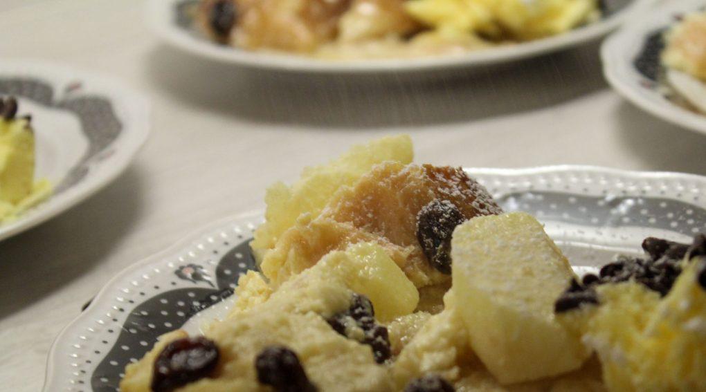 Schwäbischer Ofenschlupfer mit Äpfeln und Rosinen 5