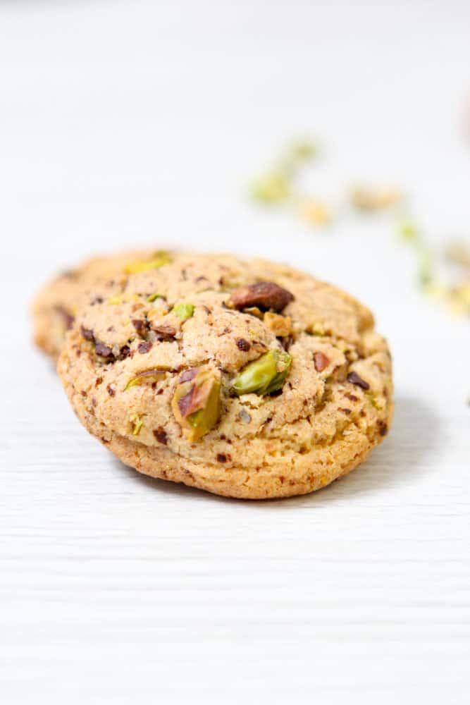 Salzige Pistazien-Schoko Cookies 3