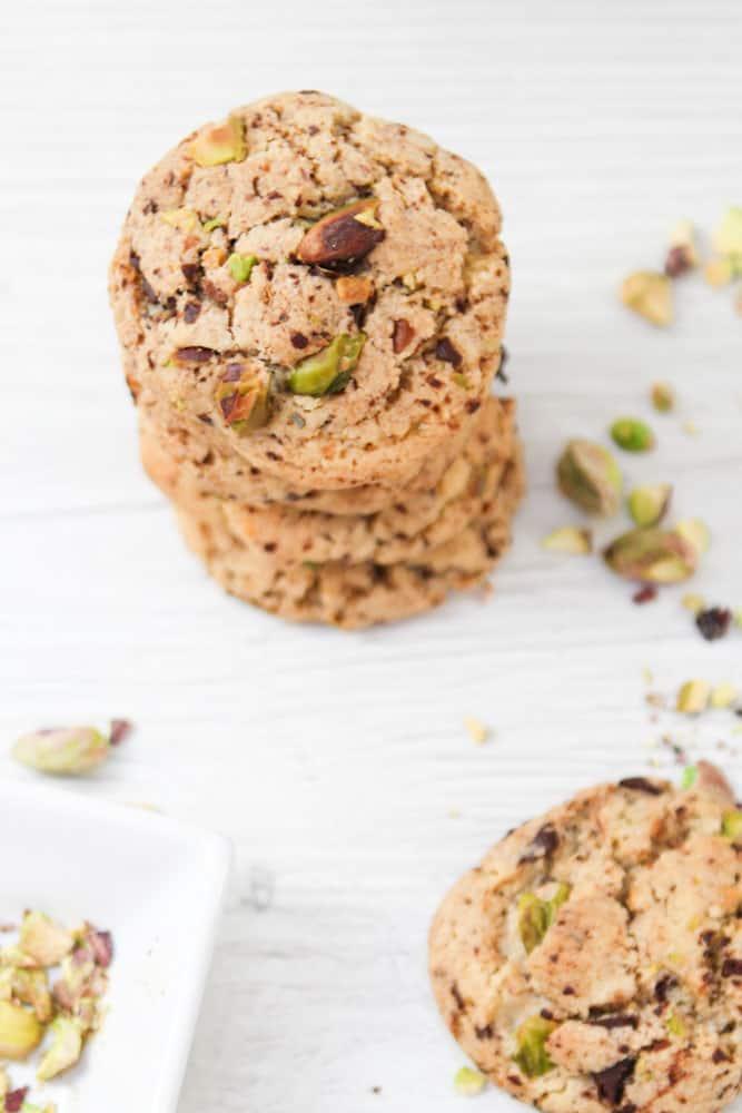 Salzige Pistazien-Schoko Cookies 5